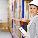 warehouse manager - female