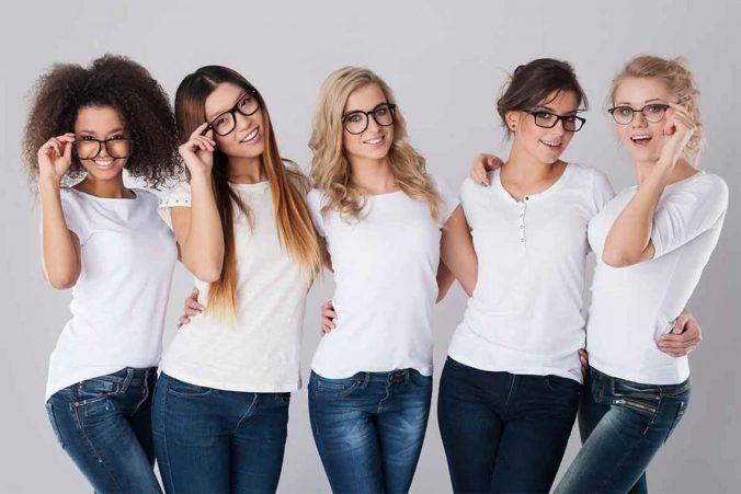 team w glasses