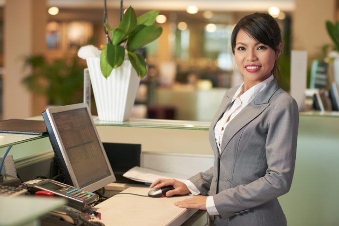 Reception Front Desk Job Opportunity